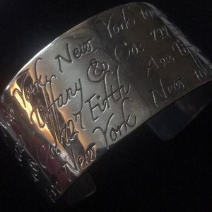 Tiffany and Co 925 silver bracelet 5th Avenue
